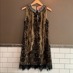 Betsy Johnson lace cocktail dress